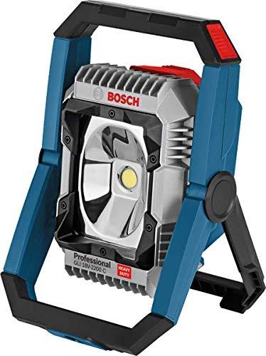 [Amazon] Bosch Professional Akku Lampe GLI 18V-2200 C + Bosch 18V 2.0Ah Akku gratis