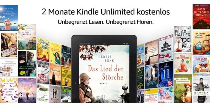 "2 Monate ""Kindle Unlimited"" gratis"