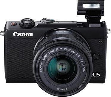 """Canon """"EOS M100"""" Systemkamera (mit Objektiv EF-M 15-45mm 3.5-6.3 IS STM) - neuer Bestpreis"""