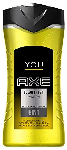 "6x Axe ""You Clean Fresh"" Duschgel (je 250ml)"