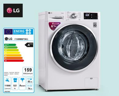 www.HOFER.at l LG Waschmaschine F14WM8P5KG 8.5 kg Steam (Dampf) Fassungsvermögen l Offline oder Lieferservice ab 28.03.2019