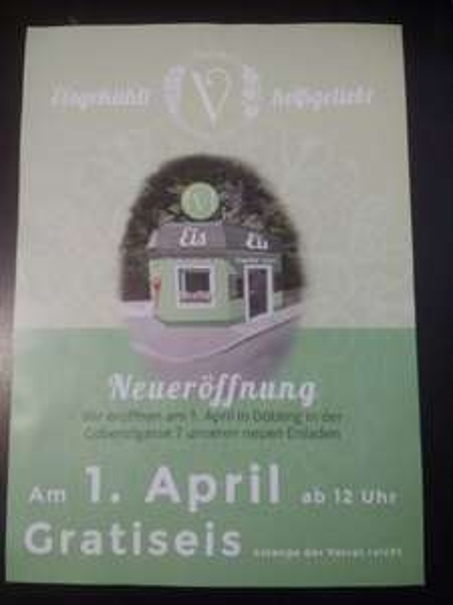 Vidoni 1190 Wien - gratis Eis