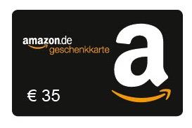 Amazon: 35 € Gutschein um 30 € kaufen (wenn ihr noch nie einen GS gekauft habt!)