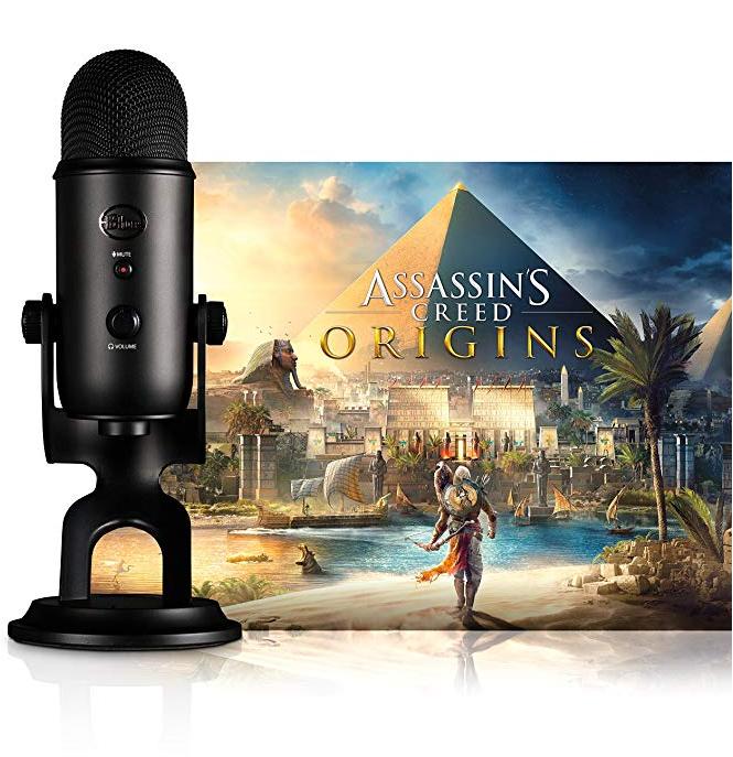 Amazon.co.uk: Blue Blackout Yeti Microfon + Assassin's Creed: Origins