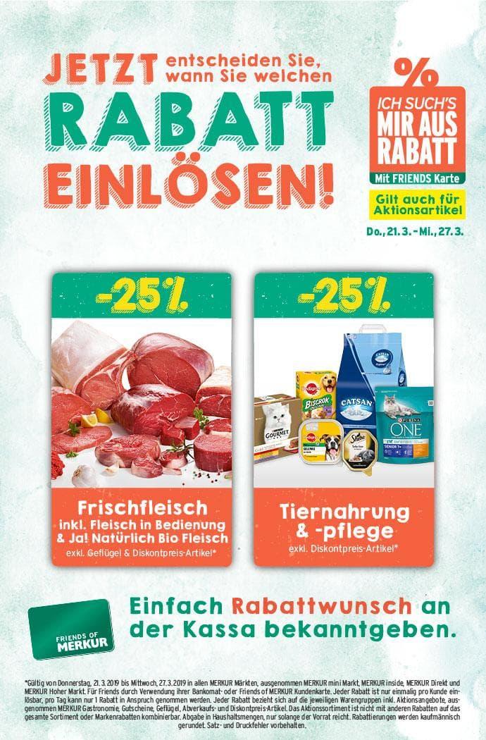 Lebensmittelhandel Angebotsübersicht 21.3.2019 - 27.3.2019