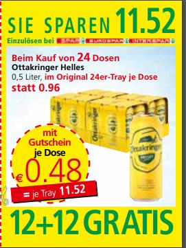 Ottakringer Helles 0,5 Liter Dose