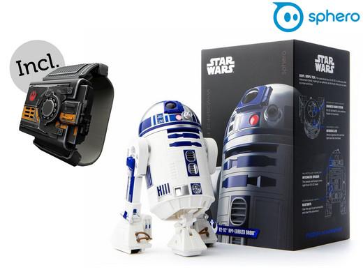 Sphero Star Wars Droid R2-D2 + Force-Armband für 55,90€