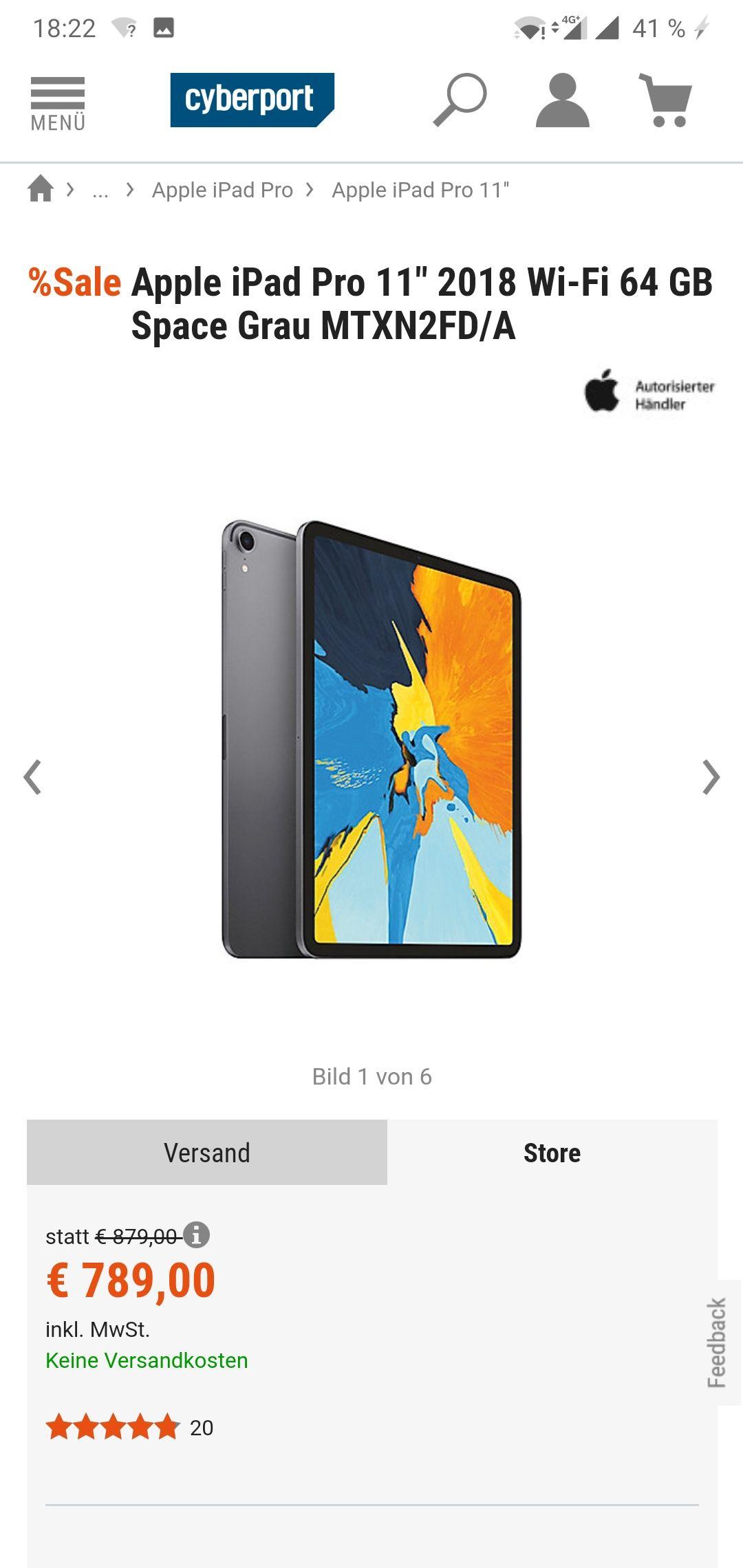 iPad Pro 64GB Wifi