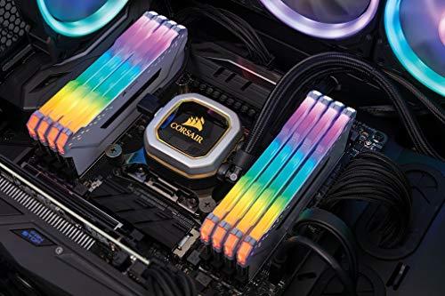 Corsair Vengeance RGB PRO weiß DIMM Kit 64GB, DDR4-3000, CL15-17-17-35 (CMW64GX4M8C3000C15W) 356,74 statt ~373,- (Bestpreis für RGB 8x8GB)