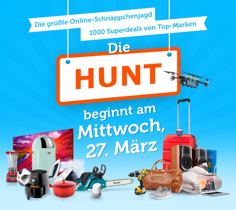 iBood Hunt - Ständig wechselnde Angebote am 27. März