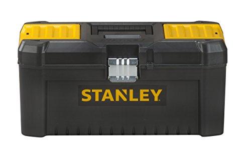 """[Amazon] Stanley Werkzeugkasten (16"""", 20x19,5x41cm, Werkzeugkoffer mit Metallschließer)"""