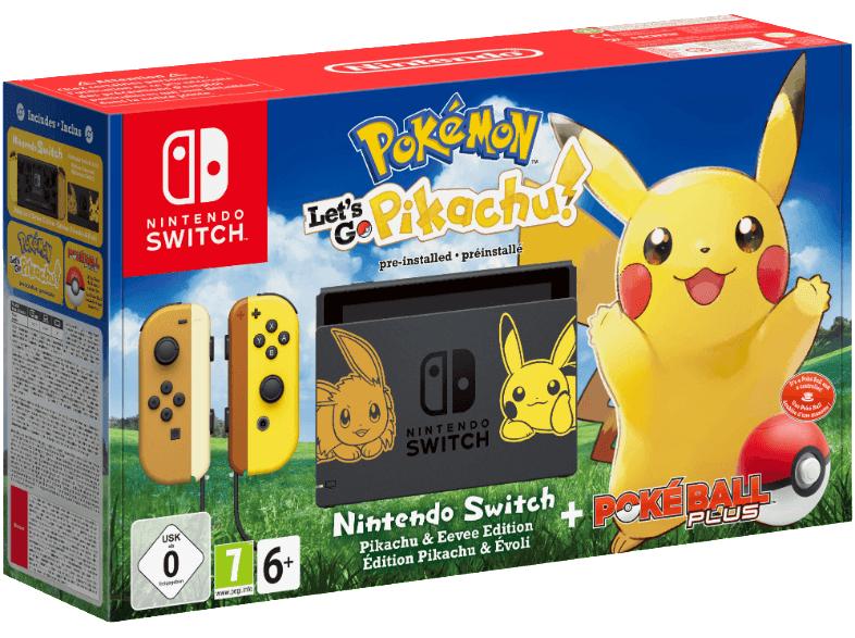Mediamarkt] NINTENDO Switch Pokémon - Let's Go Pikachu! Bundle ab 307,-€ oder 289,90€ ab 28.03