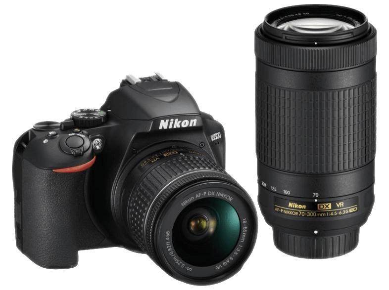 [Media Markt] NIKON D3500 mit zwei Objektiven (18-55mm und 70-300mm)