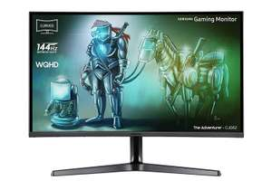 [Amazon.it] Samsung C32JG52 80 cm (32 Zoll) Curved Gaming Monitor mit 144Hz und WQHD