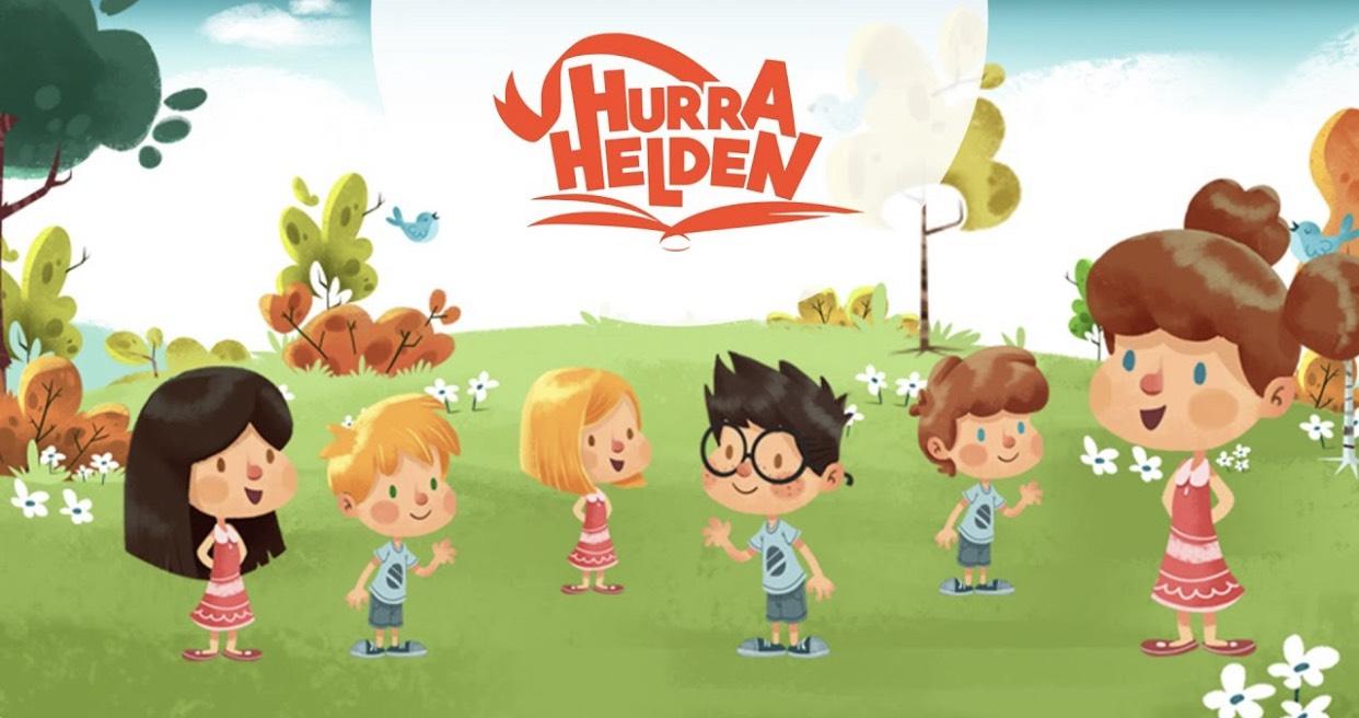 Gratis Kindermalbuch von Hurra Helden zum Downloaden und Ausdrucken