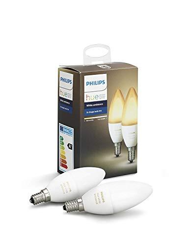 """Philips """"Hue White Ambiance"""" E14 LED Kerze Doppelpack"""