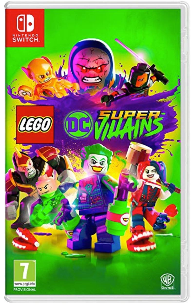 [Nintendo Switch] LEGO DC Supervillains - Toy Edition