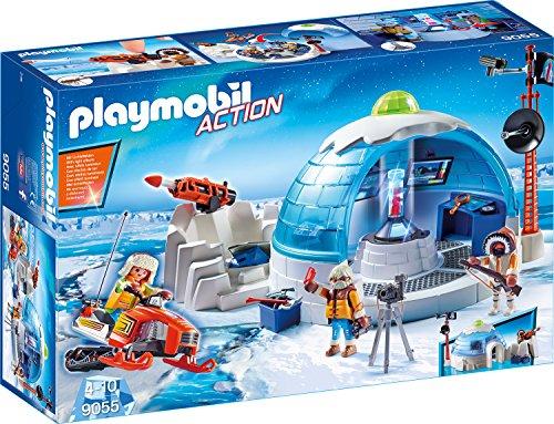 Amazon.de: Playmobil 9055 - Polar Ranger Hauptquartier