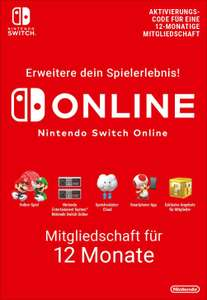 Amazon Prime / Twitch Prime: Nintendo Switch Online 12 Monate kostenlos!
