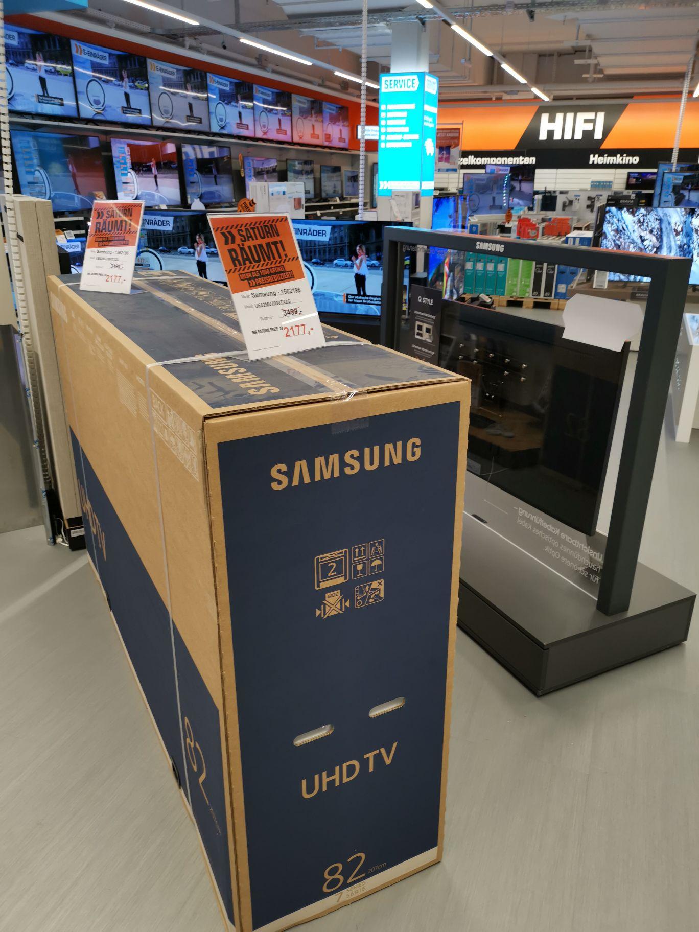 Samsung mu7000TXZG NUR IM AUHOF CENTER SATURN