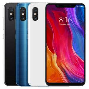 "Xiaomi Mi 8 6/128GB Samrtphone 6.21"" Dual SIM Snapdragon 845 EU-Version"