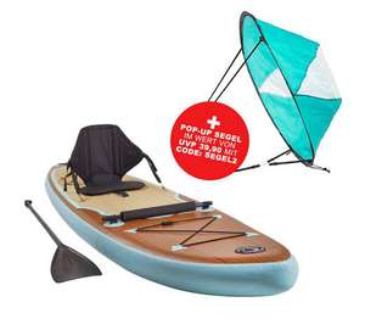 Stand Up Paddle SUP inkl gratis Segel und gratis Versand