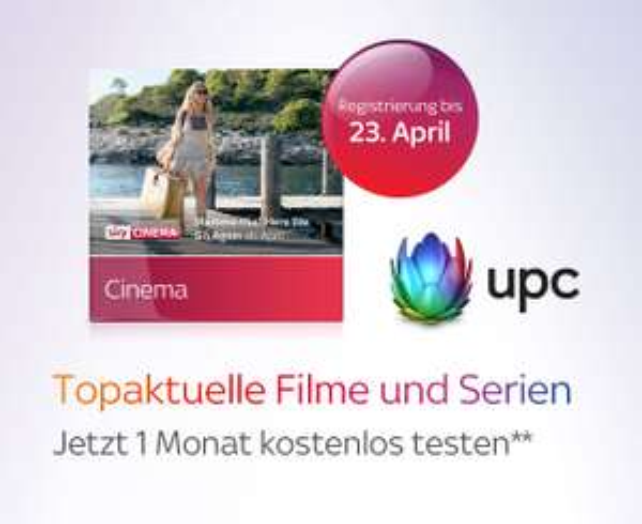 Sky Cinema 1 Monat kostenlos testen (UPC)