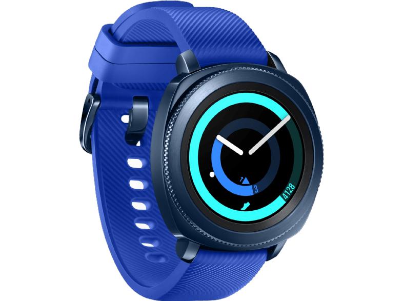 SAMSUNG Smartwatch Gear Sport SM-R600, blau (SM-R600NZBAATO)