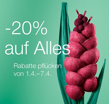 -20% auf Alles bei Palmers (im Shop und online)