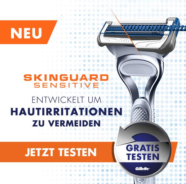 Skinguard Rasierer kostenlos testen dank Geld zurück Garantie