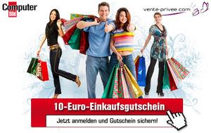 10€ Einkaufsgutschein für vente-privee dank ComputerBild