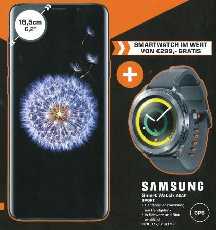 [Saturn Graz&Klagenfurt] Samsung Galaxy S9+ Duos & Galaxy Gear Sport