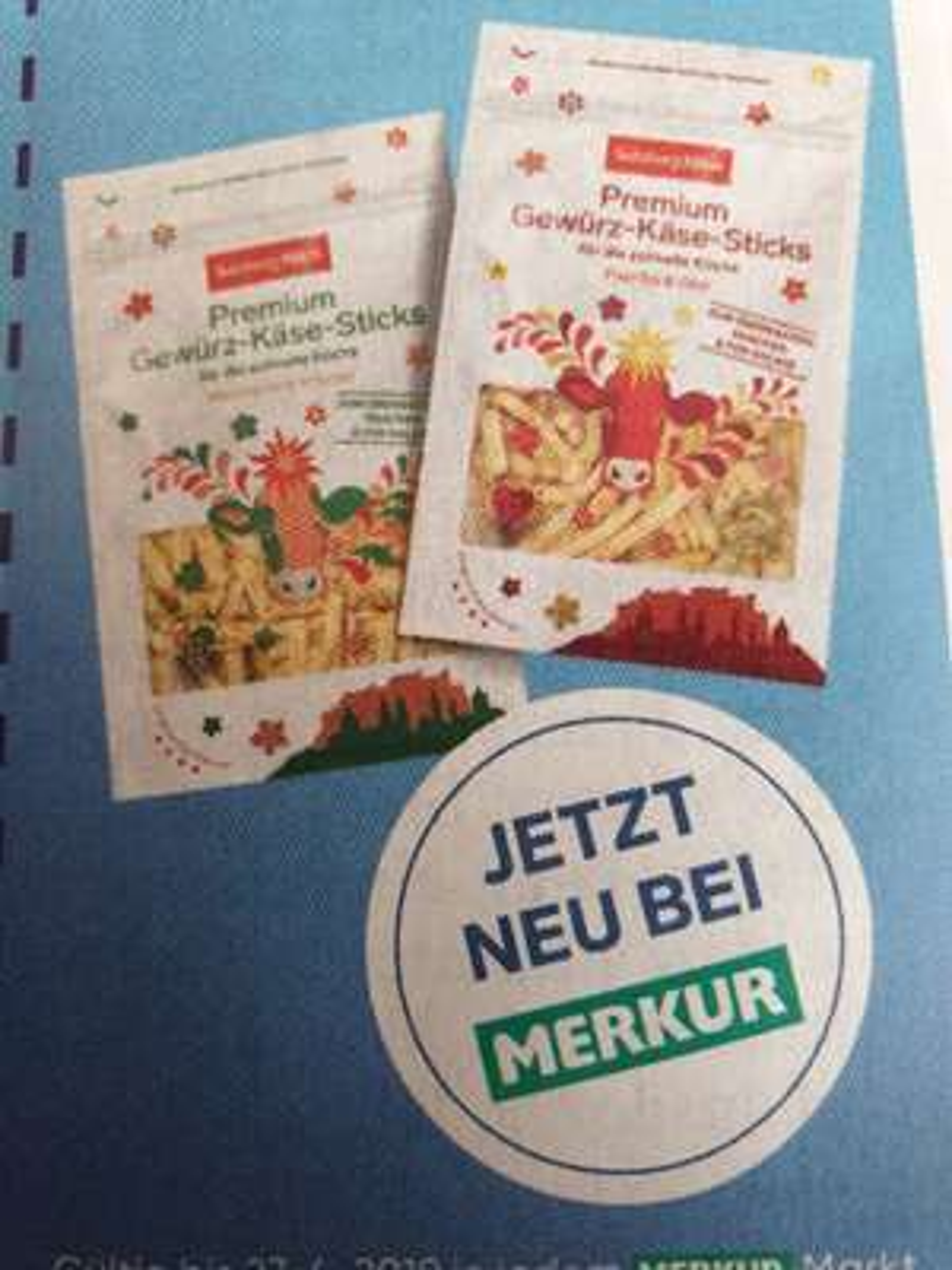 Gratis SalzburgMilch Premium Gewürz-Käse-Sticks beim Merkur