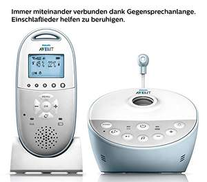 [Amazon] Philips Avent SCD580/00 Audio-Babyphone mit DECT-Technologie
