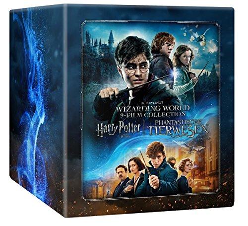 [Amazon] Wizarding World 9-Film-Collection: Harry Potter alle 8 Filme + Phantastische Tierwesen inkl. Steelbox und Sammelkarten