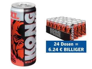 [Lidl] KONG STRONG Energy Drink XL 0,33L ab 24 Dosen