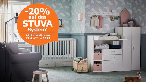 IKEA - 20% auf STUVA