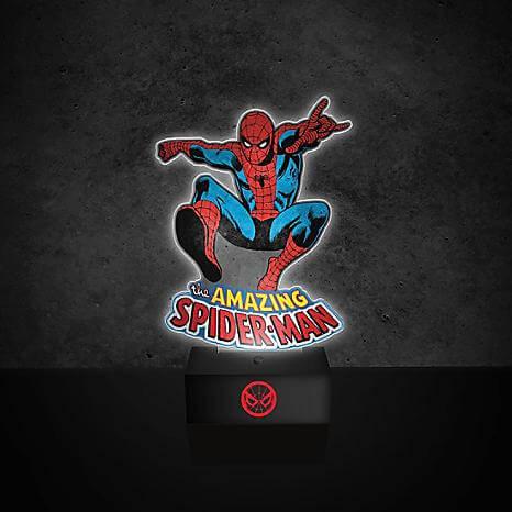 [Zavvi.de] Spiderman Lampe, 27 cm groß