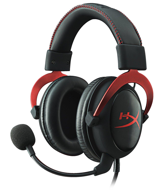 Kingston HyperX Cloud II rot Gaming Headset für 62,69€  (Amazon.it)