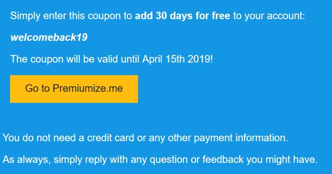 30 Tage kostenloser Premiumize.me Zugang