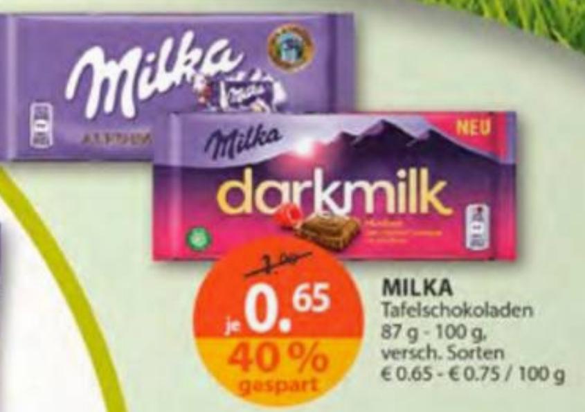 [Müller] Milka Schokolade 100g