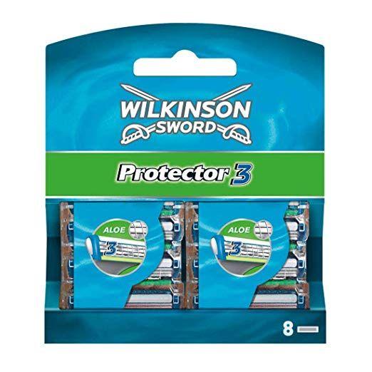 [Amazon] Wilkinson Sword Protector 3 8 Stk. Ersatzrasierklingen
