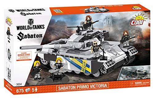 Cobi World of Tanks Sabaton Primo Victoria (3034)