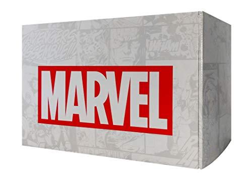 Marvel - Avengers Box mit Fanartikeln von LEGO, Hasbro, Ravensburger und Avengers: Infinity War Blu-ray, limitierte Edition