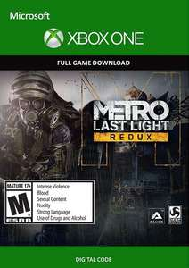 [cdkeys] Metro Last Light Redux Xbox One