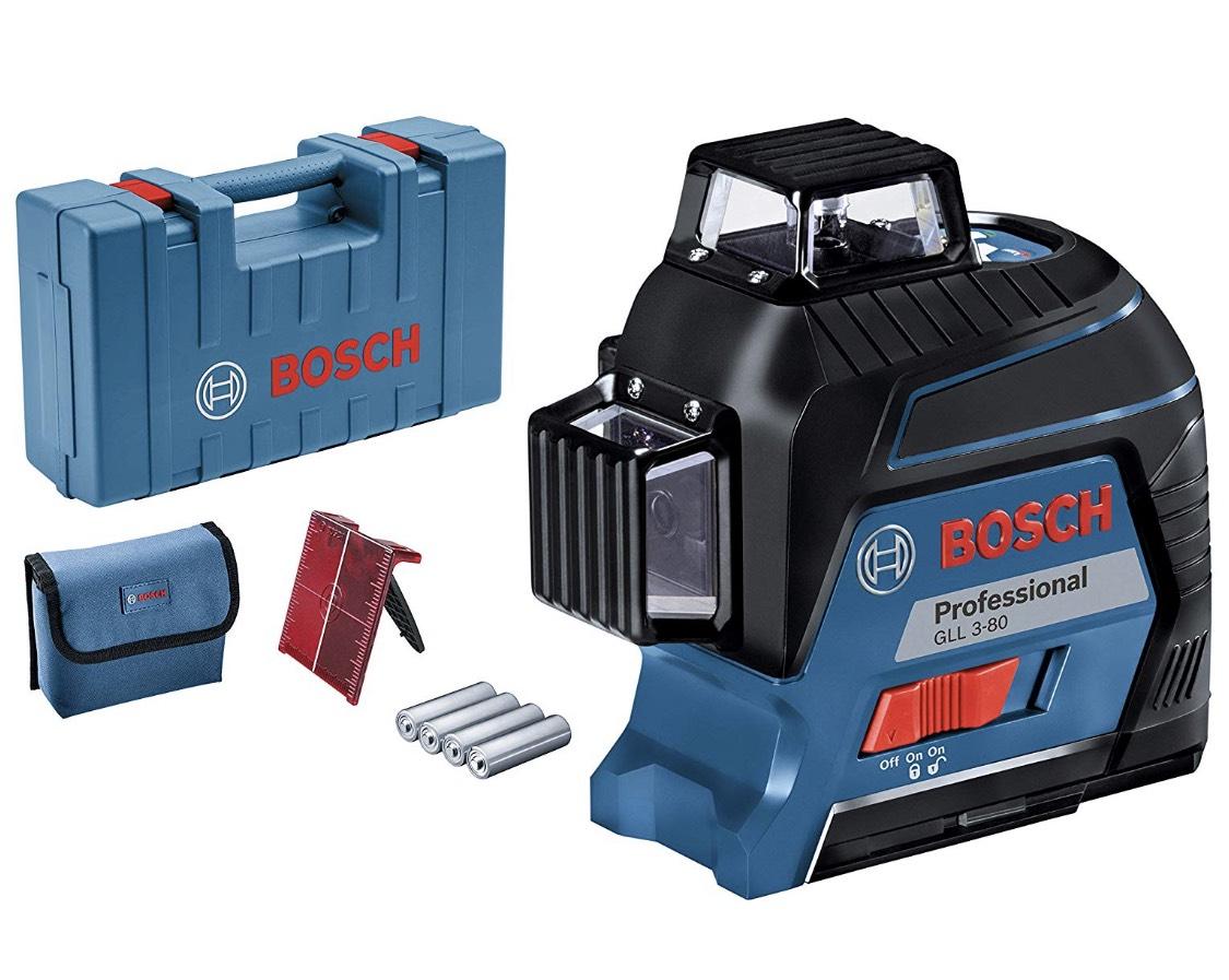 Bosch Professional Linienlaser GLL 3–80 inkl. Zubehör