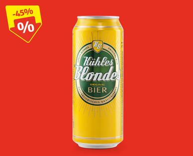 [Hofer] Kühles Blondes - 0,5l Bier für 49 cent