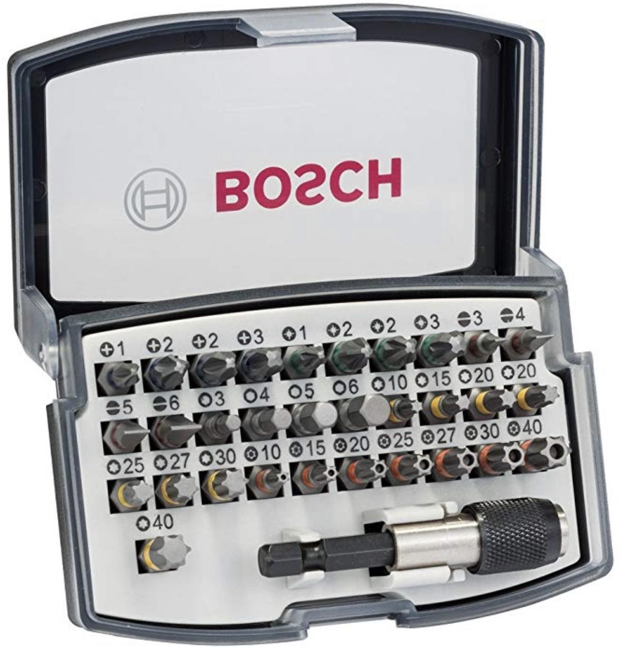 Bosch Professional 32tlg. Bit Set (Zubehör für Schraubanwendungen) um 7,04€