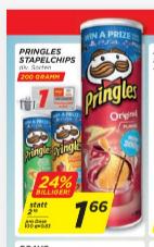 Pringles mit Marktguru Cashback