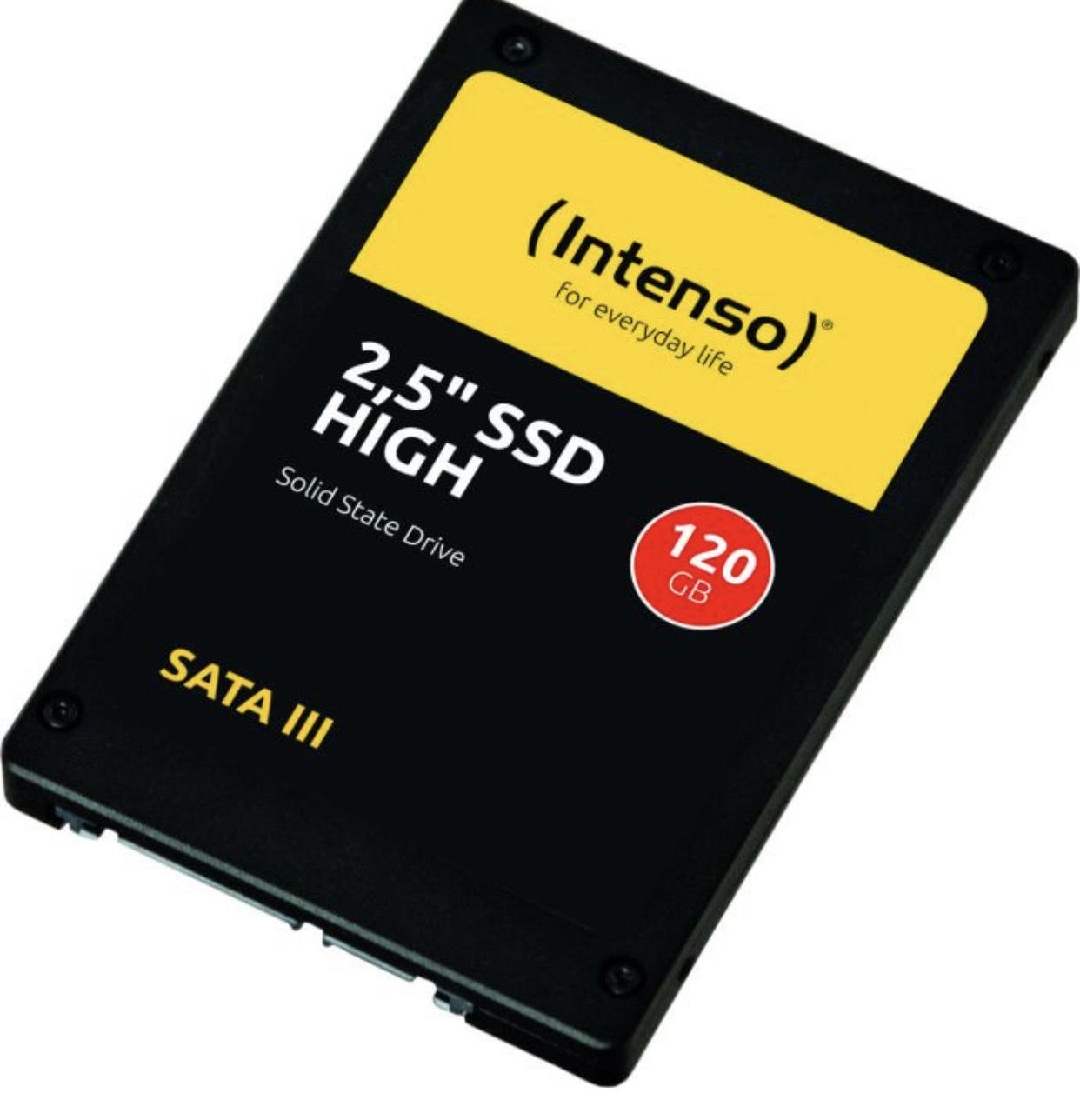 Intenso High Performance SSD 120GB für 13,99
